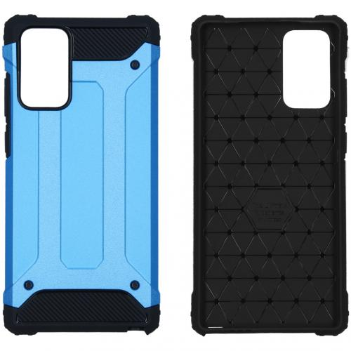 Rugged Xtreme Backcover voor de Samsung Galaxy Note 20 - Lichtblauw
