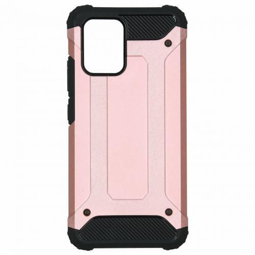 Rugged Xtreme Backcover voor de Samsung Galaxy S10 Lite - Rosé Goud