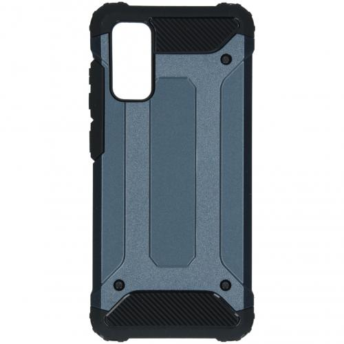Rugged Xtreme Backcover voor de Samsung Galaxy S20 - Donkerblauw