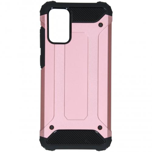 Rugged Xtreme Backcover voor de Samsung Galaxy S20 Plus - Rosé Goud