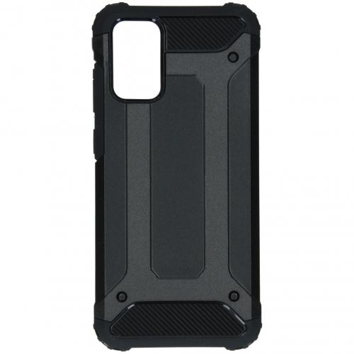 Rugged Xtreme Backcover voor de Samsung Galaxy S20 Plus - Zwart
