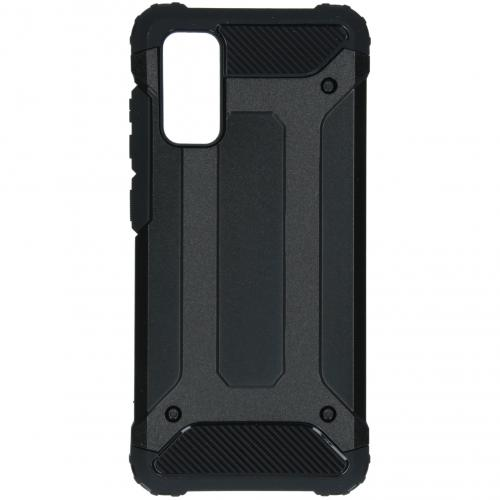 Rugged Xtreme Backcover voor de Samsung Galaxy S20 - Zwart