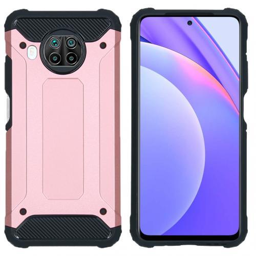 Rugged Xtreme Backcover voor de Xiaomi Mi 10T Lite - Rosé Goud