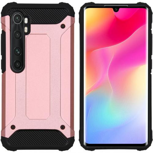 Rugged Xtreme Backcover voor de Xiaomi Mi Note 10 Lite - Rosé Goud