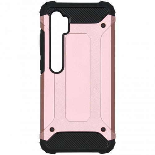 Rugged Xtreme Backcover voor de Xiaomi Mi Note 10 - Rosé Goud