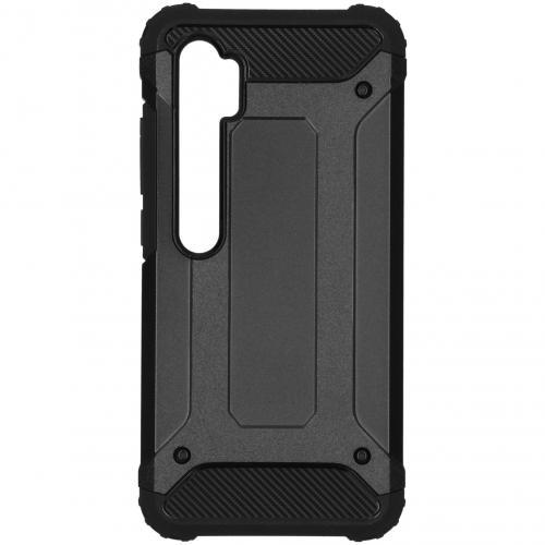 Rugged Xtreme Backcover voor de Xiaomi Mi Note 10 - Zwart