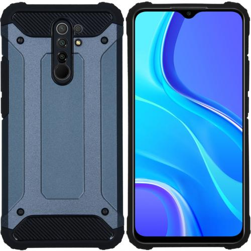 Rugged Xtreme Backcover voor de Xiaomi Redmi 9 - Donkerblauw