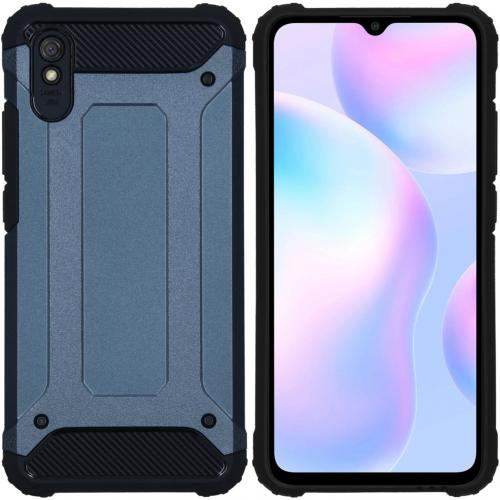 Rugged Xtreme Backcover voor de Xiaomi Redmi 9A - Donkerblauw