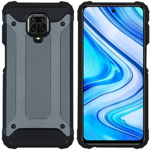 Rugged Xtreme Backcover voor de Xiaomi Redmi Note 9 Pro / 9S - Donkerblauw