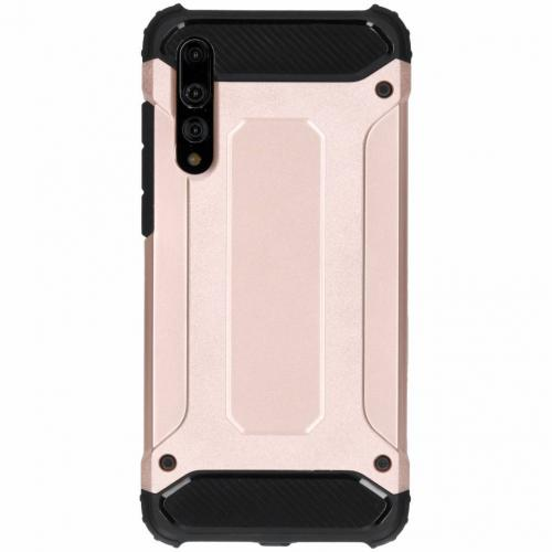 Rugged Xtreme Backcover voor Huawei P20 Pro - Rosé goud