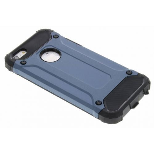 Rugged Xtreme Backcover voor iPhone SE / 5 / 5s - Donkerblauw