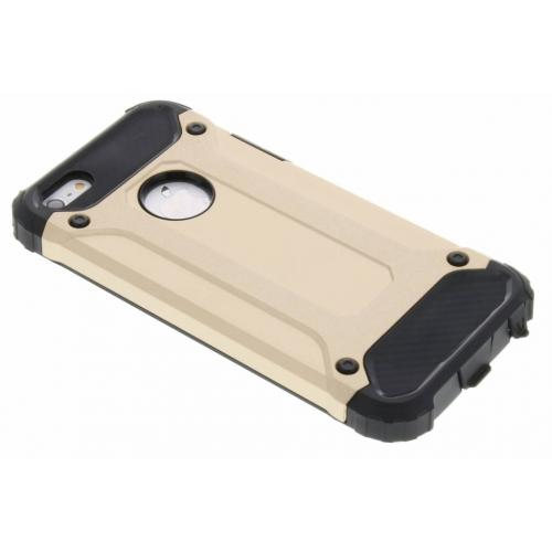 Rugged Xtreme Backcover voor iPhone SE / 5 / 5s - Goud