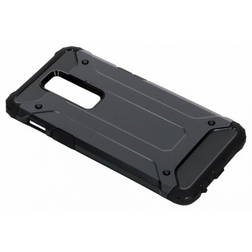 Rugged Xtreme Backcover voor OnePlus 6 - Donkerblauw