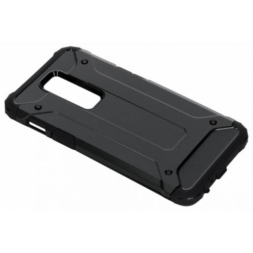 Rugged Xtreme Backcover voor OnePlus 6 - Zwart