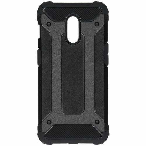 Rugged Xtreme Backcover voor OnePlus 6T - Zwart