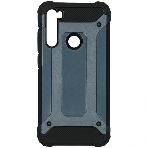 Rugged Xtreme Backcover Xiaomi Redmi Note 8 - Donkerblauw