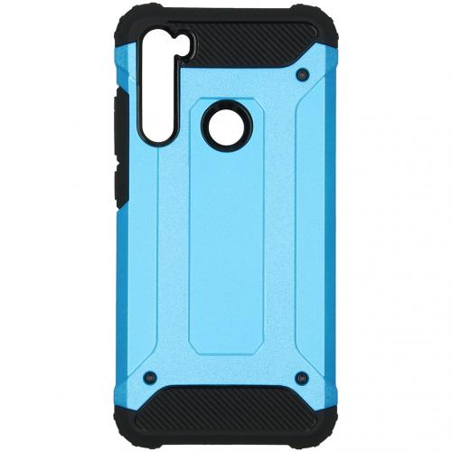 Rugged Xtreme Backcover Xiaomi Redmi Note 8 - Lichtblauw