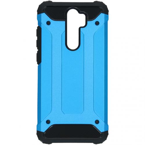 Rugged Xtreme Backcover Xiaomi Redmi Note 8 Pro - Lichtblauw