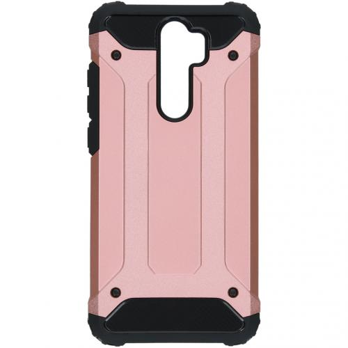 Rugged Xtreme Backcover Xiaomi Redmi Note 8 Pro - Rosé Goud