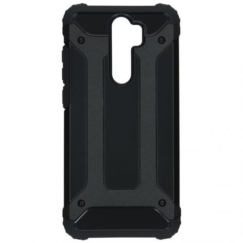 Rugged Xtreme Backcover Xiaomi Redmi Note 8 Pro - Zwart