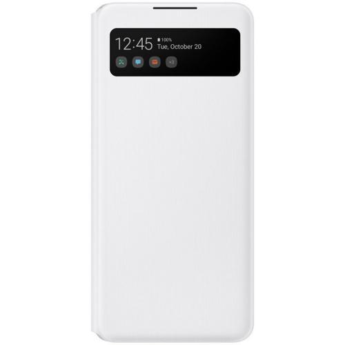 S View Cover voor de Galaxy A42 - Wit