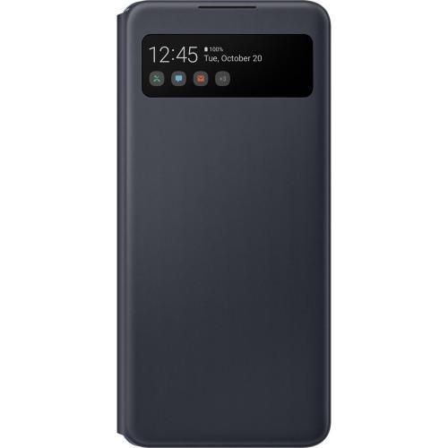 S View Cover voor de Galaxy A42 - Zwart