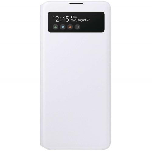 S View Cover voor de Galaxy A71 - Wit