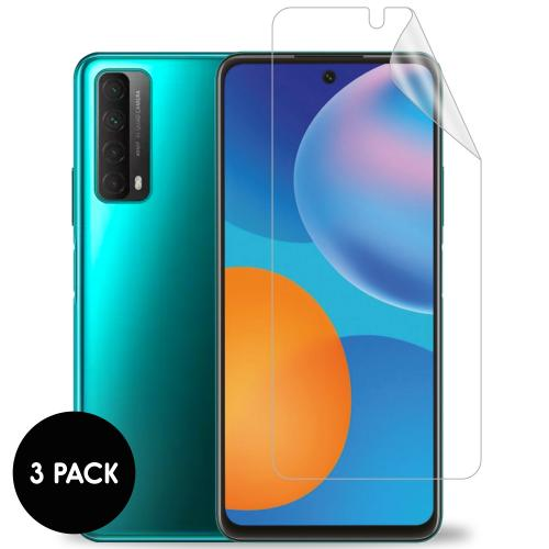 Screenprotector Folie 3 pack voor de Huawei P Smart (2021)