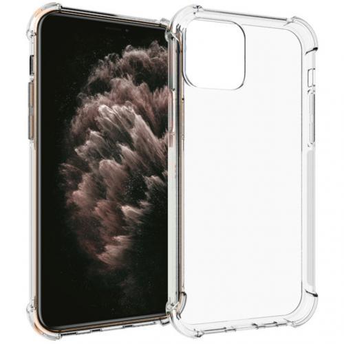 Shockproof Case voor de iPhone 12 (Pro) - Transparant