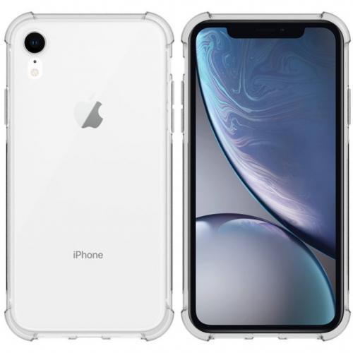 Shockproof Case voor de iPhone Xr - Transparant