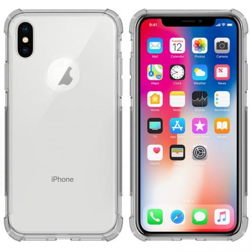 Shockproof Case voor de iPhone Xs / X - Transparant