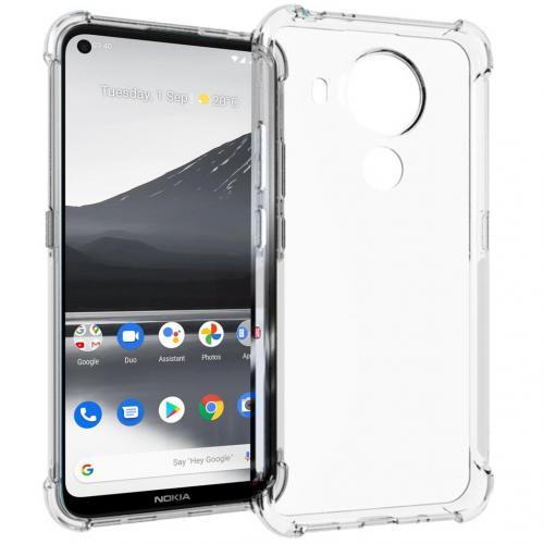 Shockproof Case voor de Nokia 3.4 - Transparant