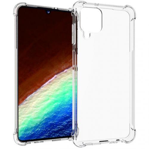 Shockproof Case voor de Samsung Galaxy A12 - Transparant
