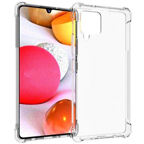 Shockproof Case voor de Samsung Galaxy A42 - Transparant