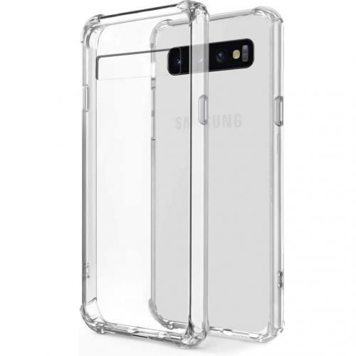 Shockproof Case voor de Samsung Galaxy S10 Plus - Transparant