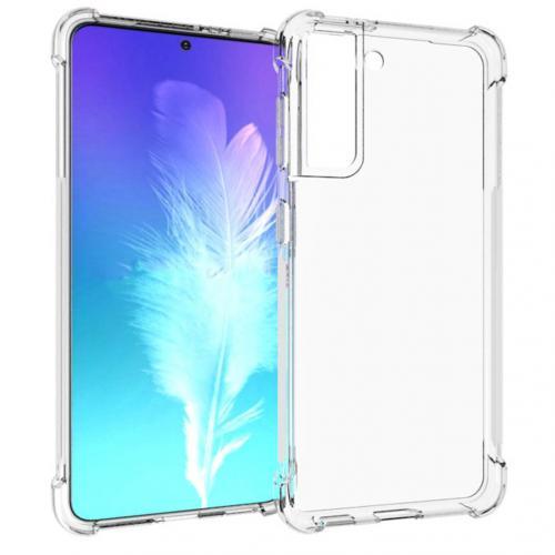 Shockproof Case voor de Samsung Galaxy S21 - Transparant