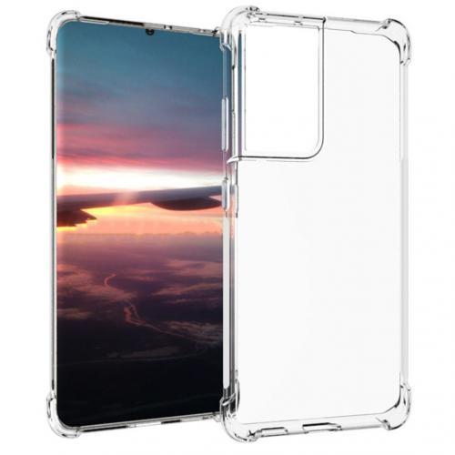 Shockproof Case voor de Samsung Galaxy S21 Ultra - Transparant