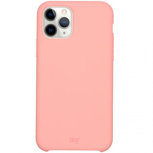 Silicone Backcover voor de iPhone 11 Pro - Roze