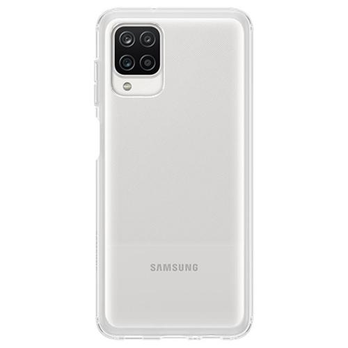 Silicone Clear Cover voor de Galaxy A12 - Transparant