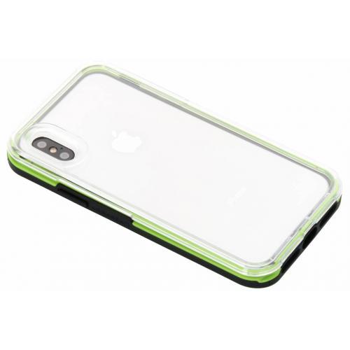 Slam Backcover voor iPhone X / Xs - Groen