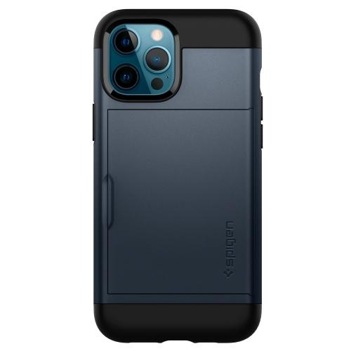 Slim Armor CS Backcover voor de iPhone 12 Pro Max - Metal Slate