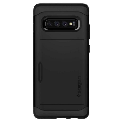 Slim Armor CS Backcover voor Samsung Galaxy S10 Plus - Zwart