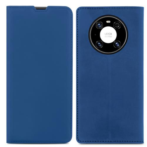 Slim Folio Book Case voor de Huawei Mate 40 Pro - Donkerblauw