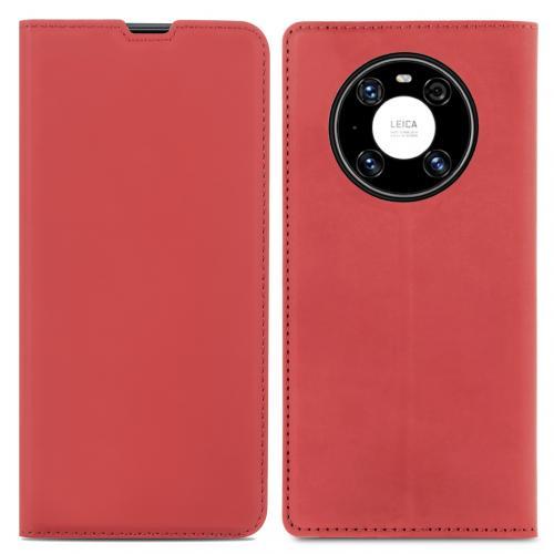 Slim Folio Book Case voor de Huawei Mate 40 Pro - Rood