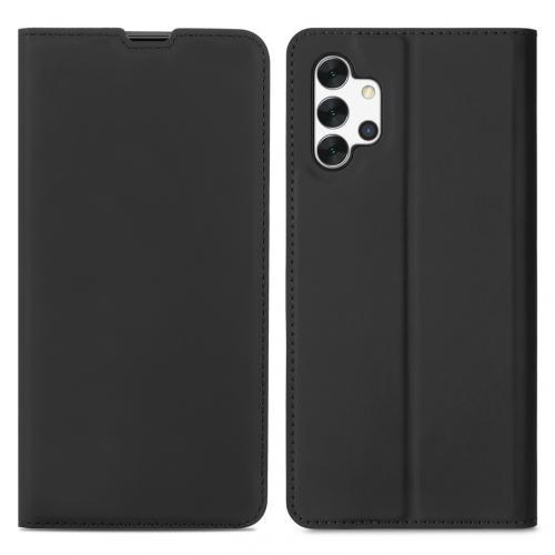 Slim Folio Book Case voor de Samsung Galaxy A32 (5G) - Zwart