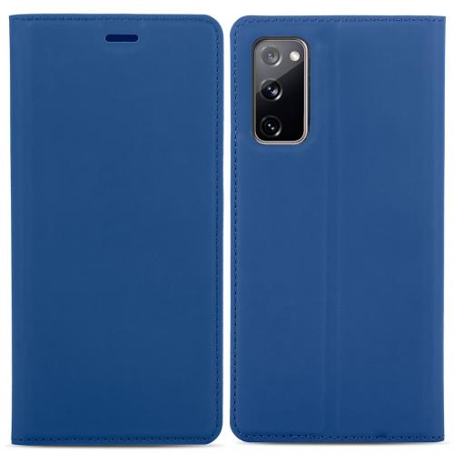 Slim Folio Book Case voor de Samsung Galaxy S20 FE - Donkerblauw
