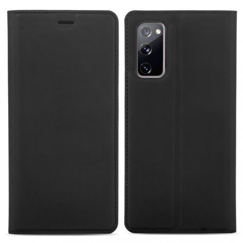 Slim Folio Book Case voor de Samsung Galaxy S20 FE - Zwart