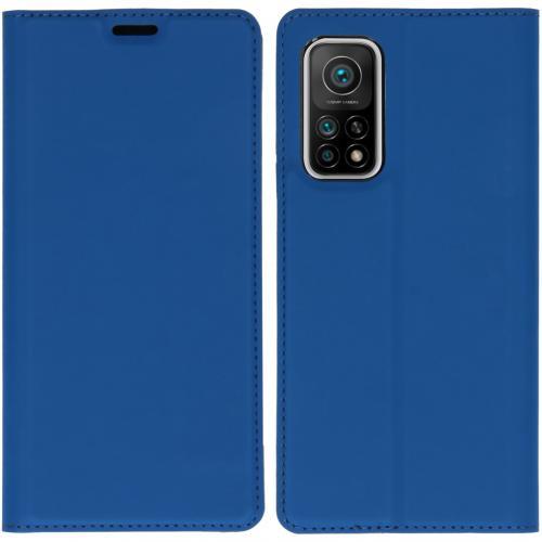 Slim Folio Book Case voor de Xiaomi Mi 10T (Pro) - Donkerblauw