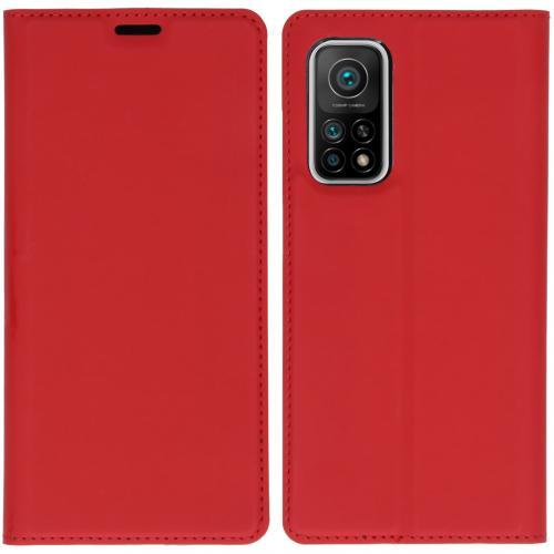 Slim Folio Book Case voor de Xiaomi Mi 10T (Pro) - Rood