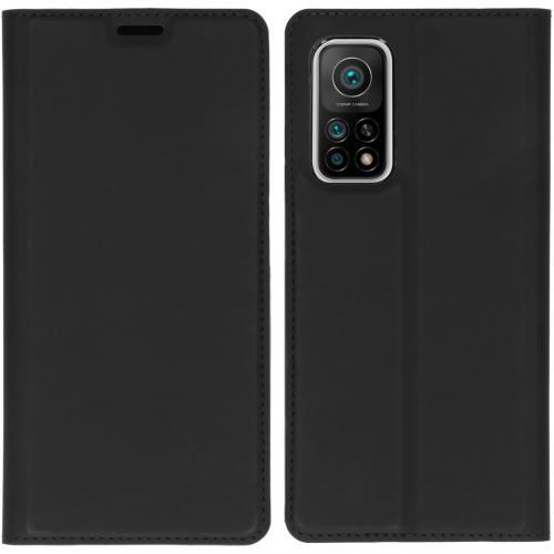 Slim Folio Book Case voor de Xiaomi Mi 10T (Pro) - Zwart
